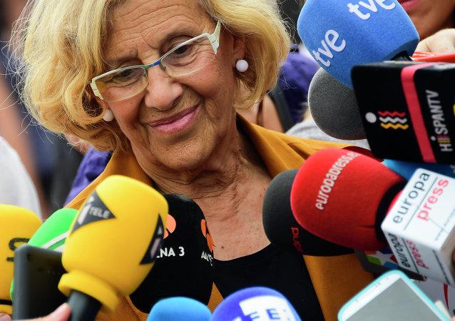 Manuela Carmena, alcaldesa de Madrid (archivo)