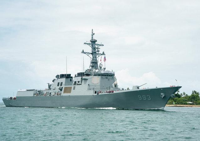 Buque de la Armada surcoreana Seoae Ryu Seong-Ryong