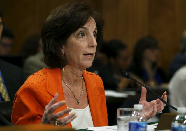 Roberta Jacobson, secretaria de Estado adjunta para Asuntos del Hemisferio Occidental