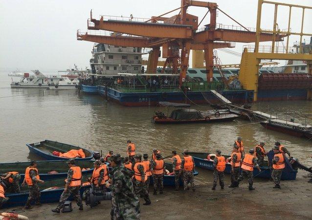 Hubei, lugar del naufragio de un barco de pasajeros que se hundió en el río Yangtse