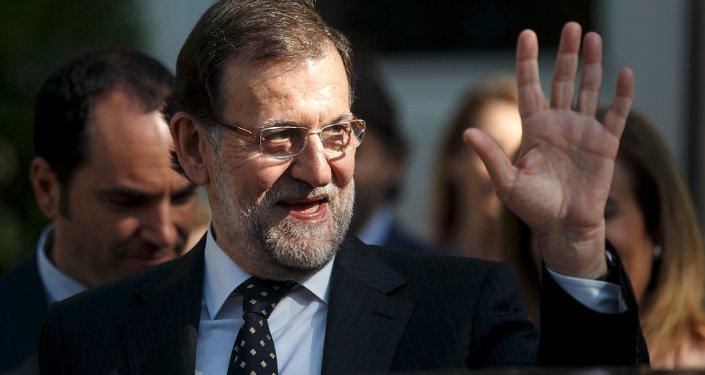 Mariano Rajoy, presidente del Gobierno de España el 2 de junio, 2015.
