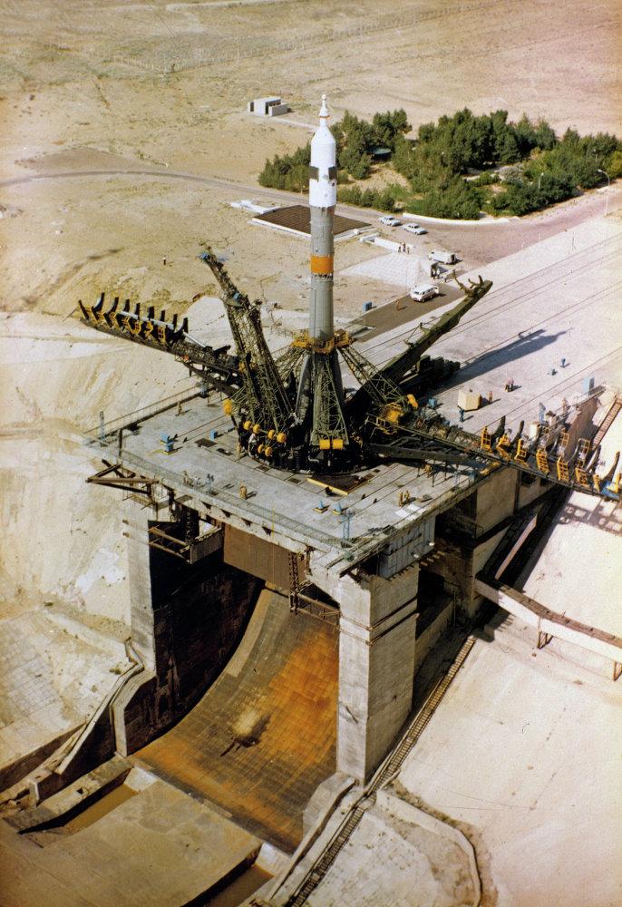 Baikonur, el primer puerto del mundo de naves espaciales