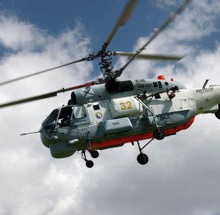 Helicóptero Ka-27 (archivo)