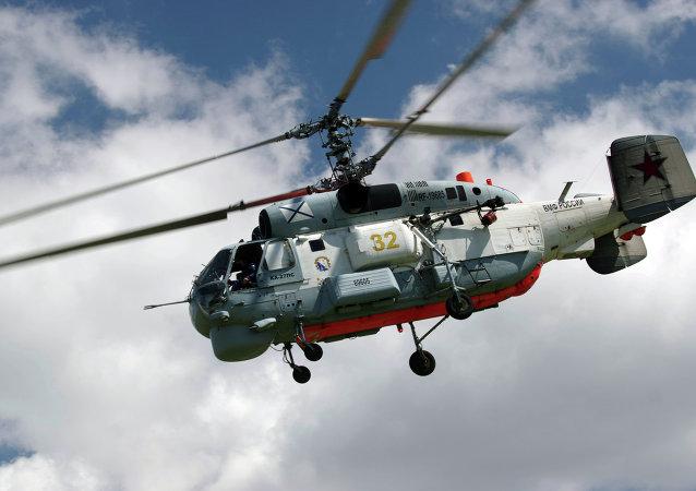 Helicóptero ruso Ka-27