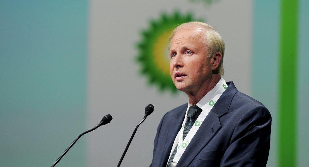 Bob Dudley, director ejecutivo de British Petroleum