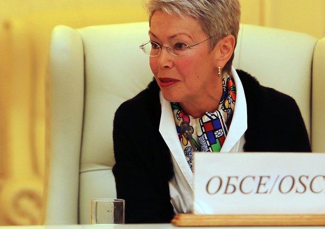 Heidi Tagliavini, emisaria de la OSCE en el Grupo de Contacto Trilateral para Ucrania (archivo)