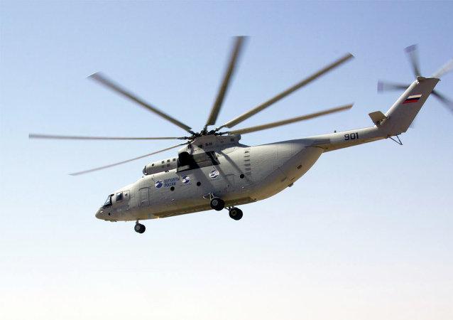 Helicóptero Mi-26T2