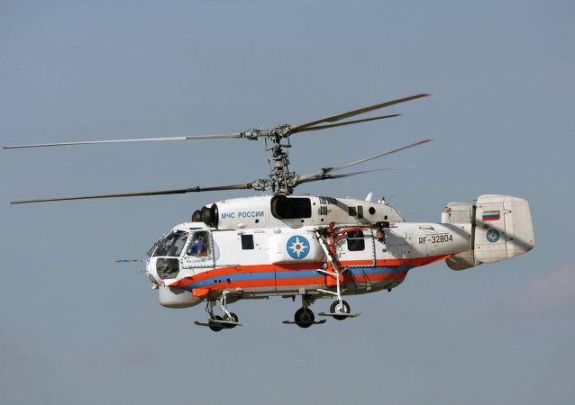 El helicóptero Ка-32А11ВС