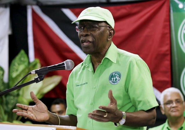 Jack Warner, ex vicepresidente de la FIFA