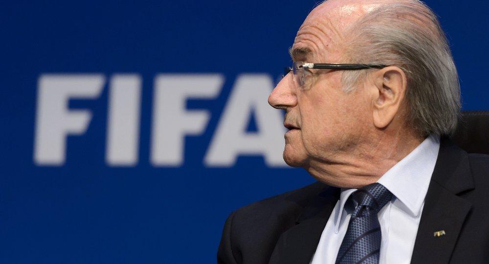 Joseph Blatter, presidente suspendido de la FIFA
