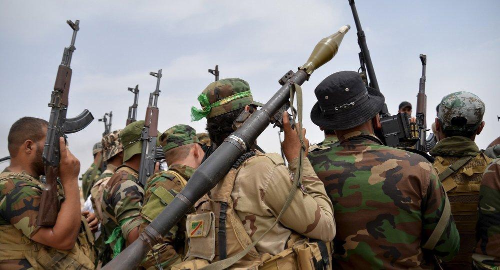 Militares chiíes