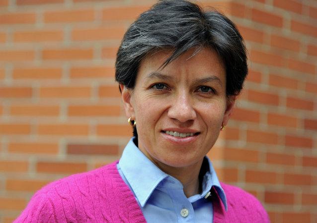 Claudia López, senadora colombiana por Alianza Verde