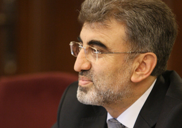 Taner Yildiz, ministro de Energía de Turquía