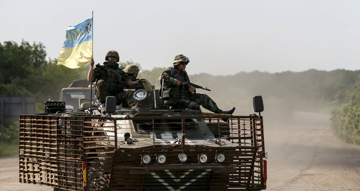 Militares de Ucrania (archivo)