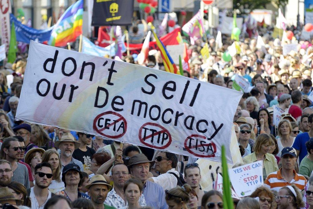 Protestas contra la cumbre del G7 en Munich