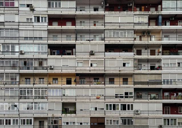 Complejo residencial del Parque Calero en Madrid