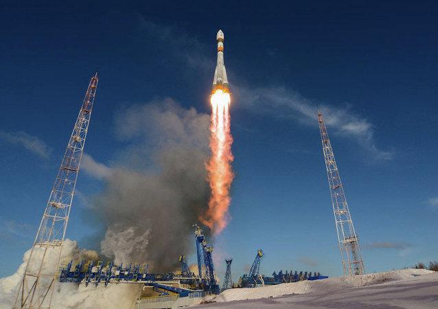 Lanzamiento del cohete Soyuz-2.1a (Archivo)