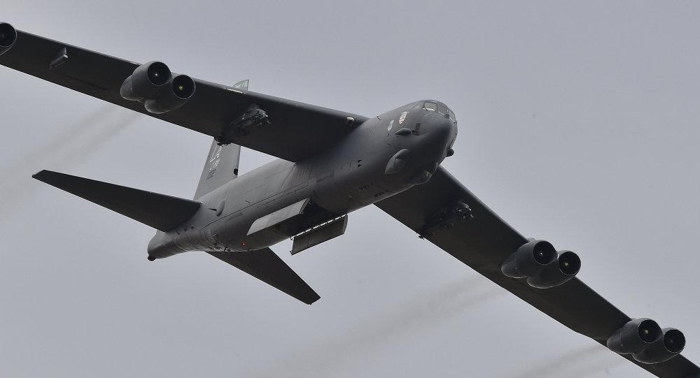 B-52, bombardero estratégico de los EEUU (archivo)