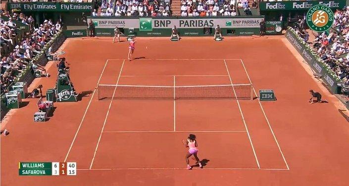Serena Williams vs. Lucie Safarova | Torneo de Roland Garros 2015