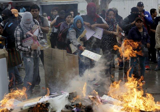 México vive insurgencia ciudadana similar a rebelión zapatista, dice defensor de DDHH