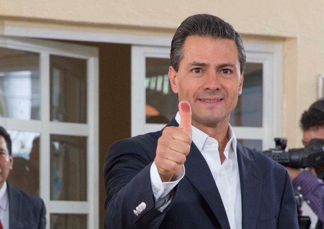Enrique Peña Nieto, presidente de México