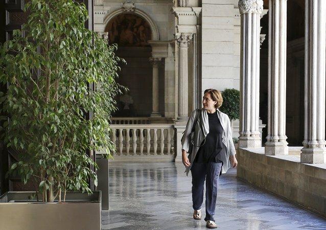 Ada Colau, futura alcaldesa de Barcelona