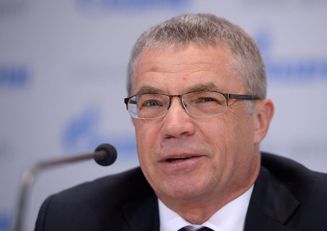 Alexandr Medvédev, vicepresidente de Gazprom
