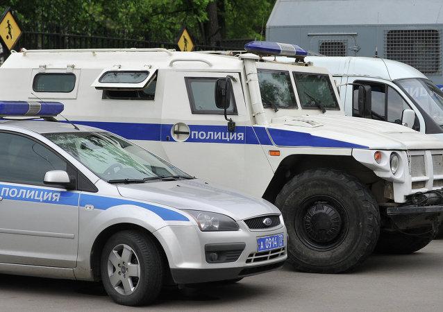 Coches de policía rusa (imagen referencial)