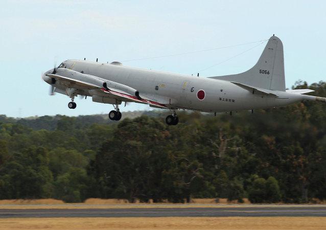 Avión de vigilancia japonés P-3C (archivo)