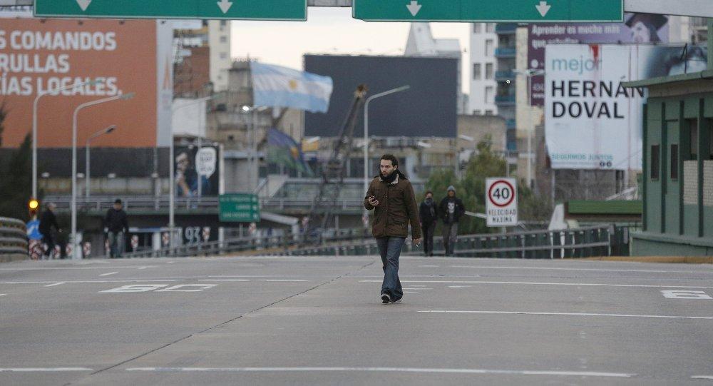 Huelga general en Buenos Aires
