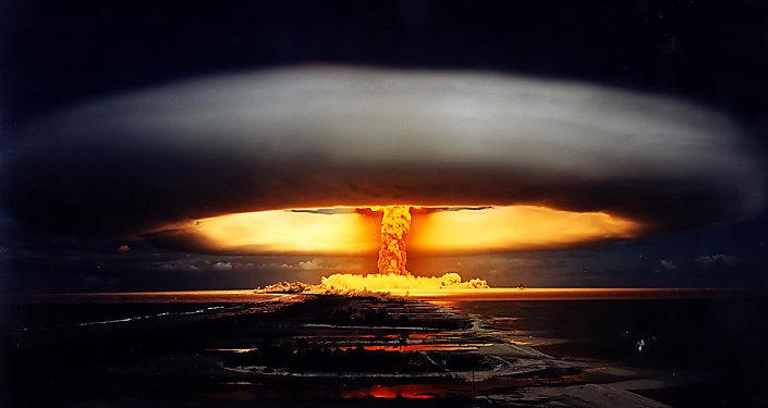 Una explosión nuclear