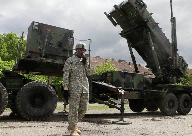 Sistema de misiles estadounidense Patriot en Polonia (archivo)