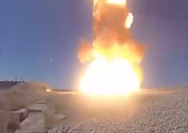 Rusia ensaya un misil interceptor