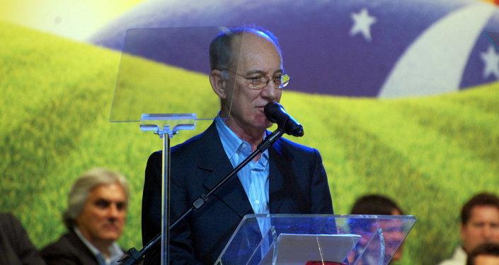 Rui Falcao, presidente de PT