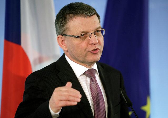 Lubomir Zaoralek, ministro de Exteriores de la República Checa