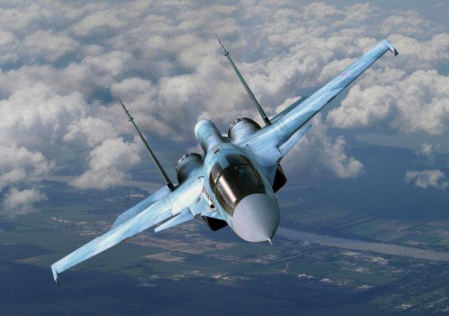 Un Su-34 ruso
