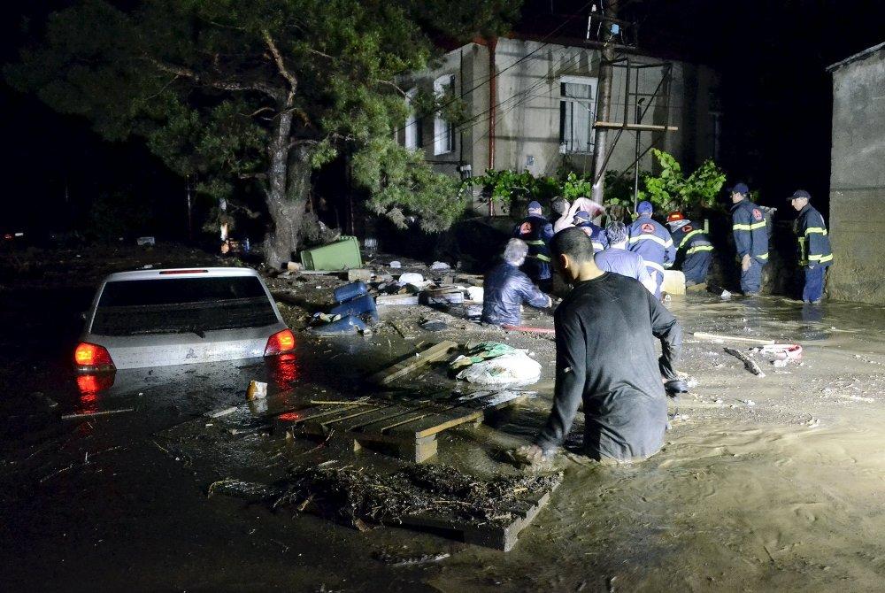 En poder de las aguas: inundaciones en Tbilisi