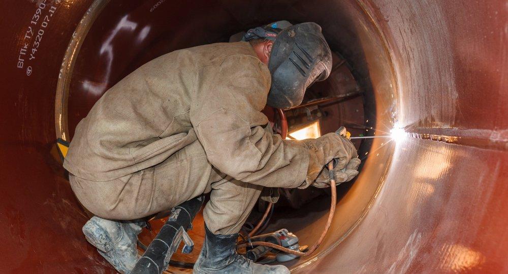 La construcción del gasoducto Fuerza de Siberia