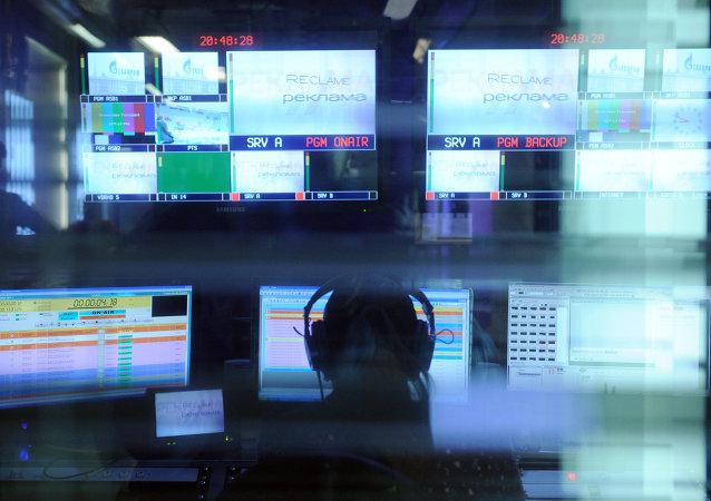 Un estudio de televisión