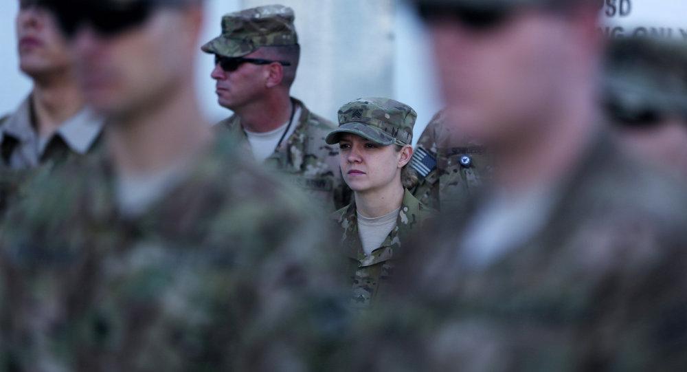 Militares de las Fuerzas Internacionales de Apoyo a la Seguridad en Afganistán (ISAF)