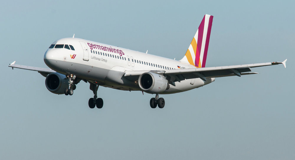 Airbus A320, avión de Germanwings