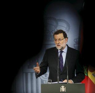 Mariano Rajoy,presidente del Gobierno de España