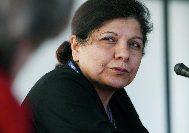Shamshad Akhtar, secretaria ejecutiva de la UNESCAP