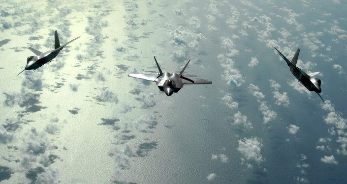 Cazas F-22 Raptor