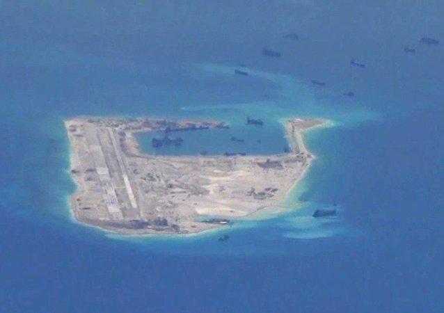 Islas artificiales de China (archivo)