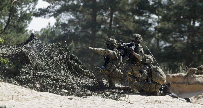 Maniobras de la OTAN en Letonia