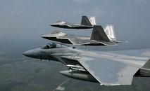 Aviones norteamericanos (archivo)