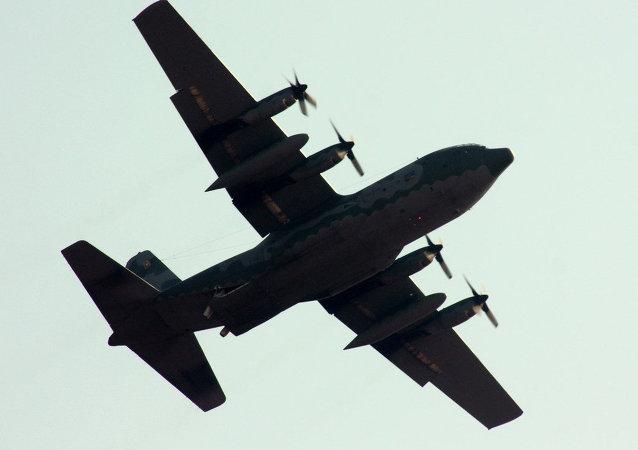 Avión militar Hércules C-130 de la FAB