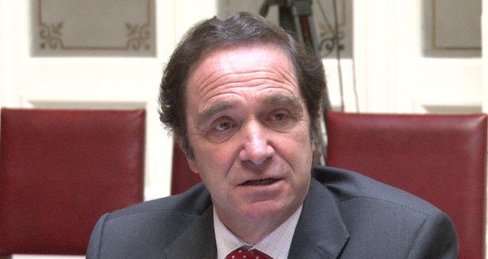 Hernán Larraín, ministro de Justicia de Chile (archivo)