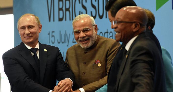 Líderes de los países BRICS (archivo)